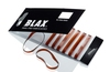Blax Snag-Free Hair Elastics 4 mm 8pcs Amber/Brun
