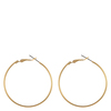 Snö Of Sweden Mystic Big Ring Earring, Plain Gold (40 mm)