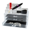 Cosmetic Organizer With 3 Drawers