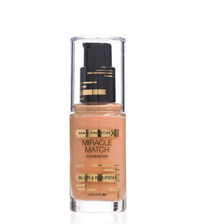 Max Factor Miracle Match Foundation Caramel 085