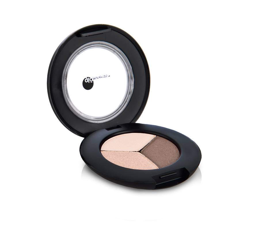 glóMinerals gloEye Shadow Trio Coffee