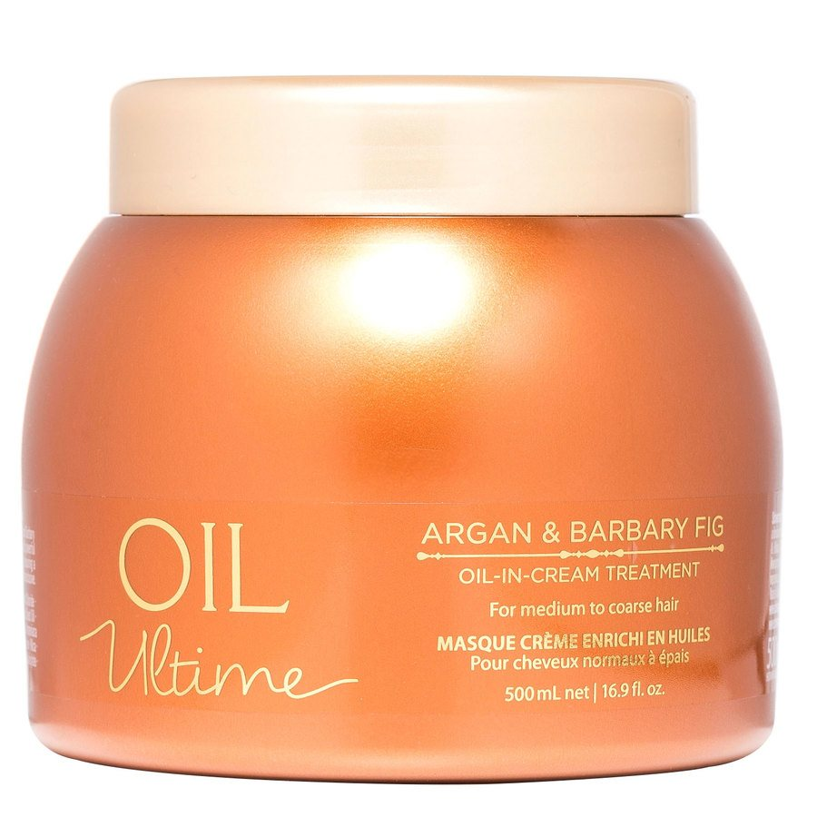 Schwarzkopf Oil Ultime Argan & Barbary Fig Oil-In-Cream Treatment 500 ml