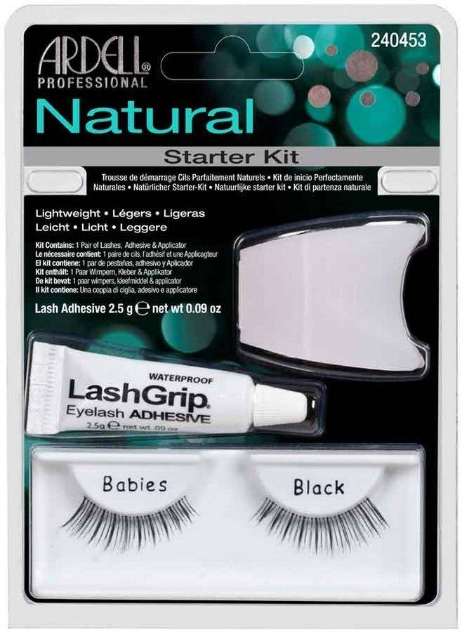 Ardell Natural Fashion Lashes Starter Kit (3 delar)