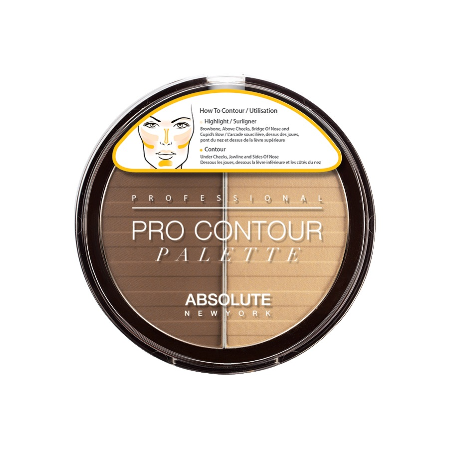 Absolute New York Pro Contour Palette Medium APC02