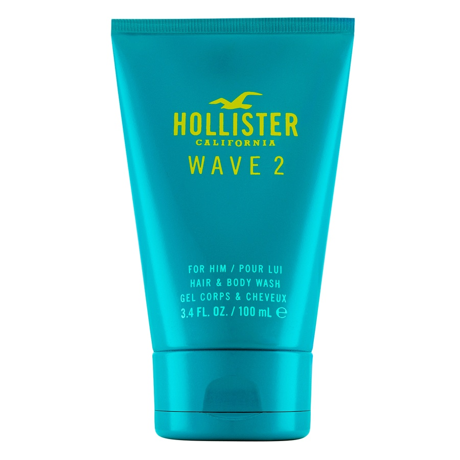 Hollister Wave 2 For Him Hair and Body Wash 100 ml