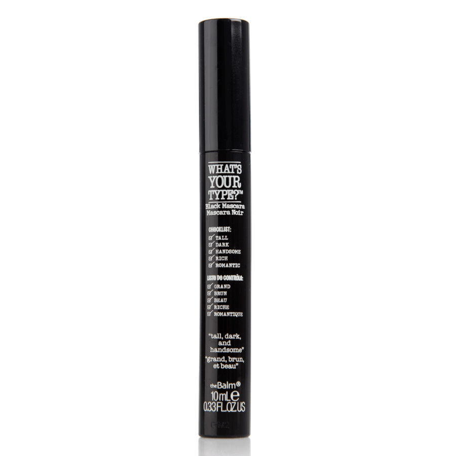 The Balm What's Your Type Mascara Tall Dark & Handsome 10 ml