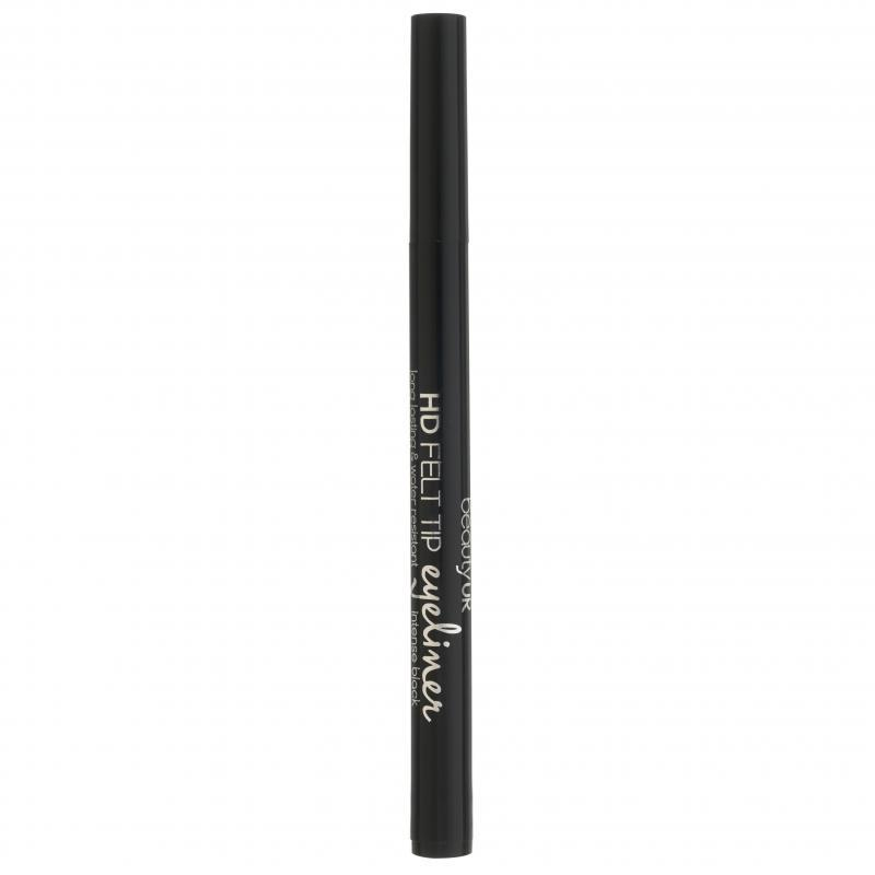 Beauty UK HD Felt Tip Eye Liner Intense Black