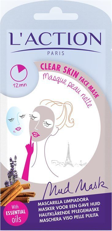 L'Action Paris Clear skin face mask 18 g