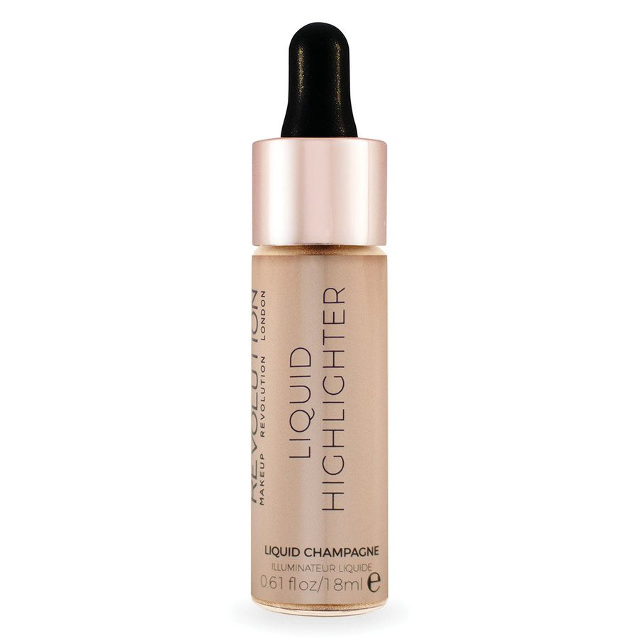 Makeup Revolution Liquid Highlighter Liquid Champagne 18 ml