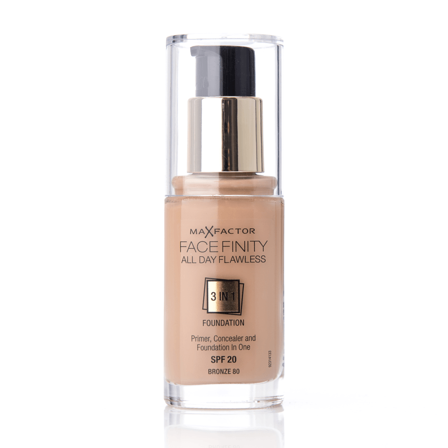 Max Factor Facefinity 3 In 1 Foundation 80 Bronze 30 ml