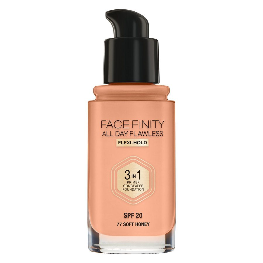 Max Factor Facefinity 3 In 1 Foundation 77 Soft Honey 30 ml