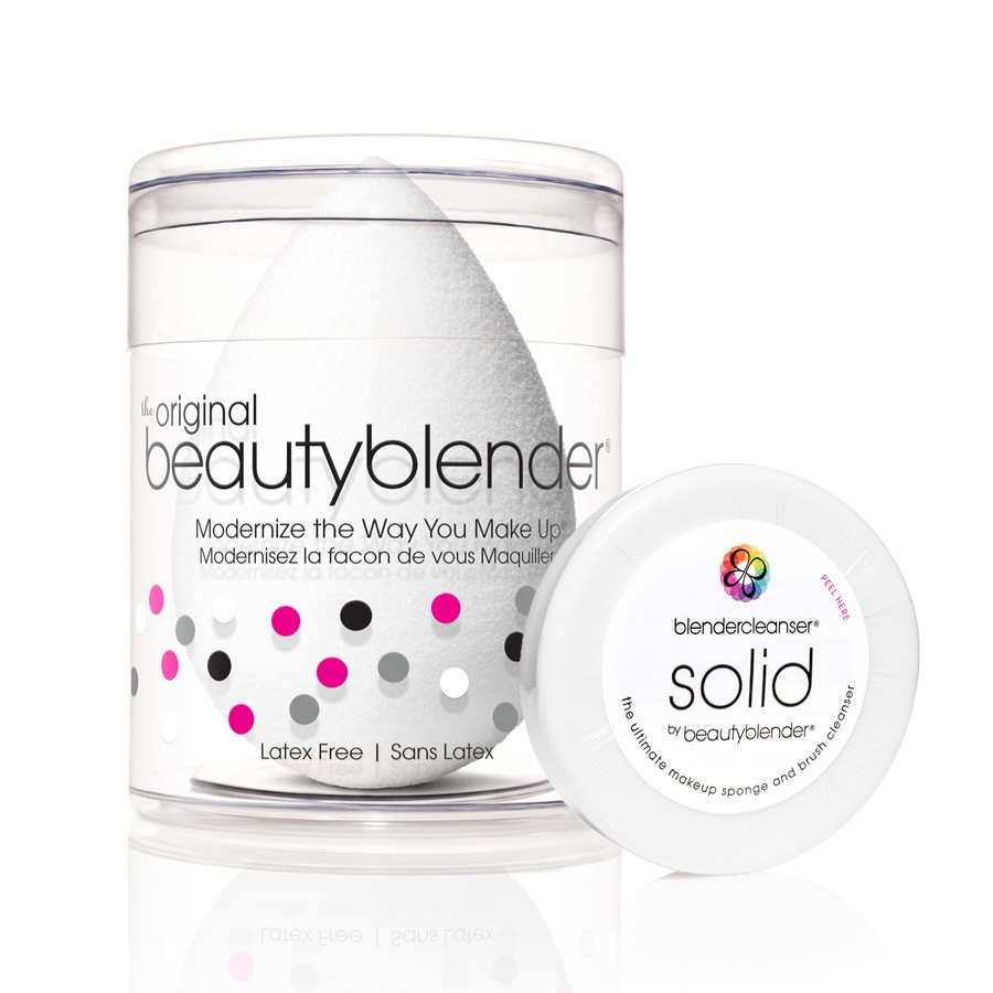 Beautyblender Original White & Mini Solid Cleanser