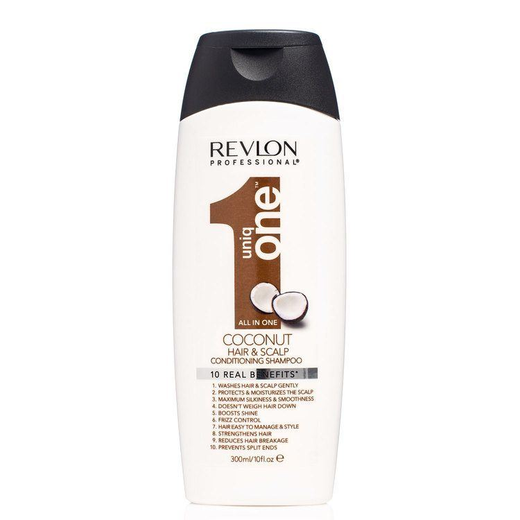 Revlon Professional Uniq One Hair & Scalp Conditioning Shampoo Coconut 300 ml