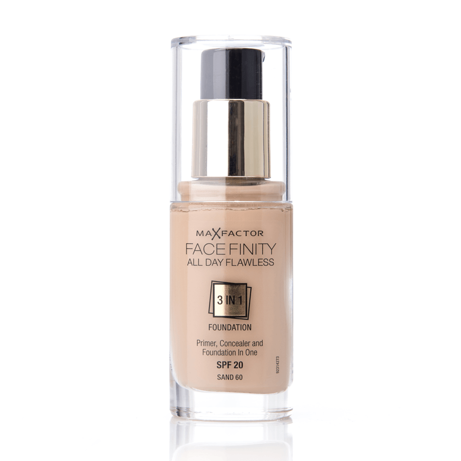 Max Factor Facefinity 3 In 1 Foundation 60 Sand 30 ml