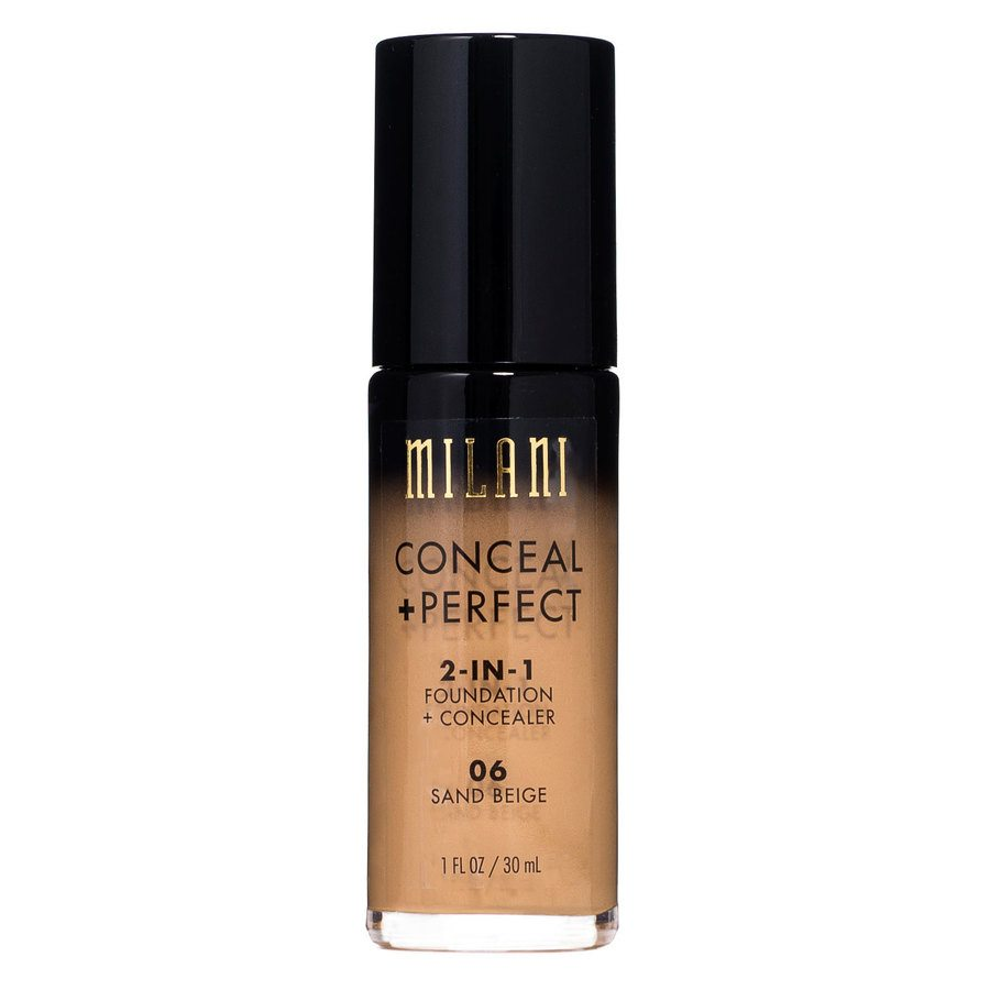 Milani Conceal & Perfect 2 In 1 Foundation + Concealer Sand Beige 30 ml