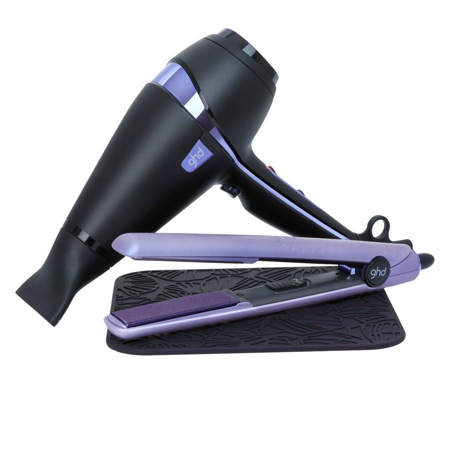 ghd Air Nocturne Hair Dryer + V Gold Nocturne Styler
