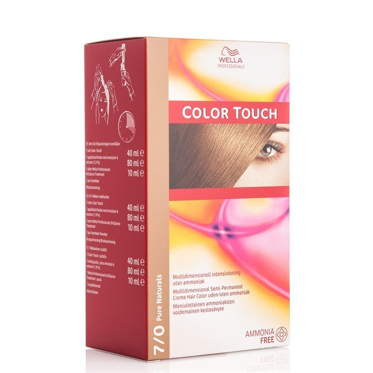 Wella Professionals Color Touch CT OTC 100 ml 7/0 Pure Naturals SKAN