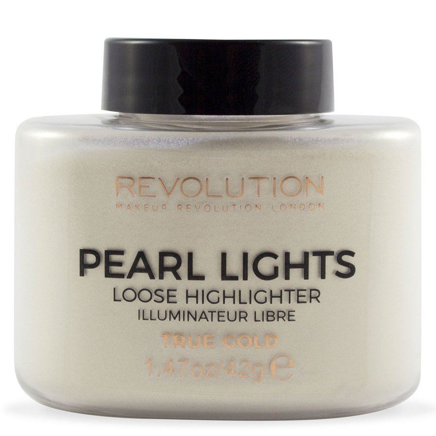 Makeup Revolution Pearl Lights Loose Highlighter True Gold 25 g