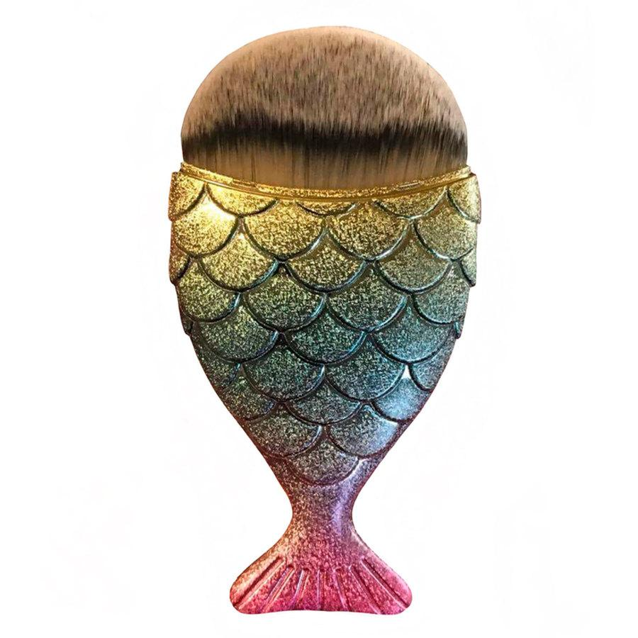 Mermaid Salon The Original Chubby Mermaid Brush Rainbow Fish