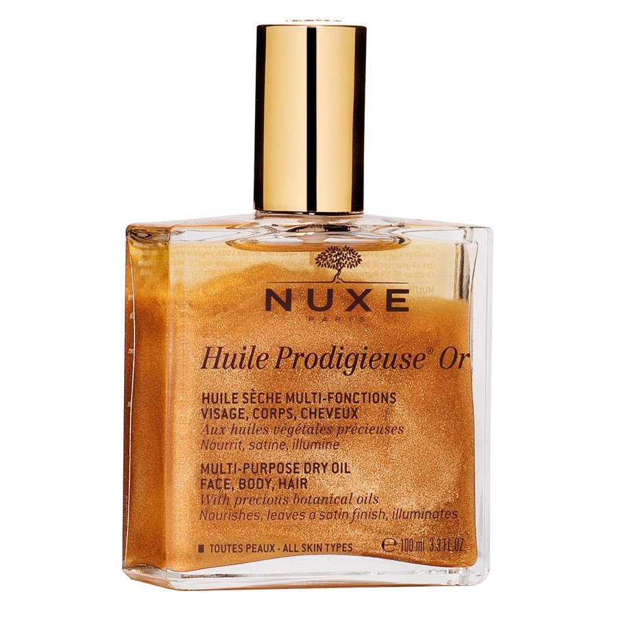 Nuxe Huile Prodigieuse OR Multi-Purpose Dry Oil Face, Body, Hair 100 ml