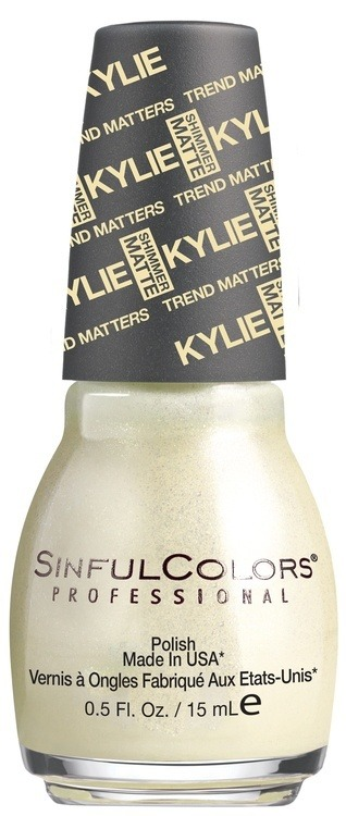 Kylie Jenner Sinful Colors Nagellack Butter Kup #2088 15ml