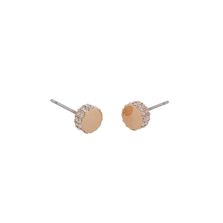 Snö of Sweden Marly Small Earring Rosé/Clear