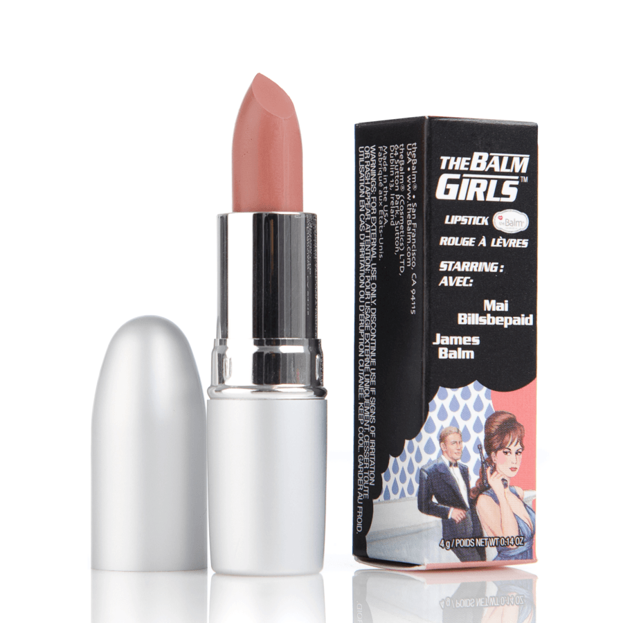 The Balm Girls Lipstick Mai Billsbepaid Nude 4g