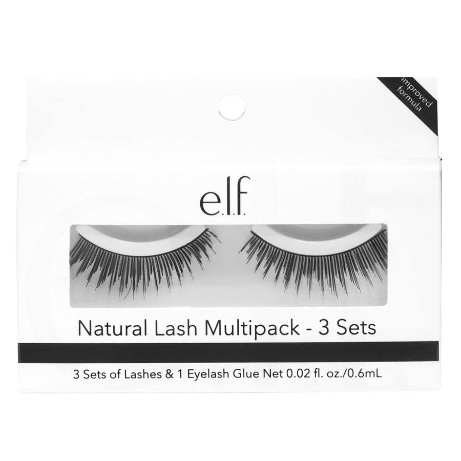 e.l.f. Natural Lash Multipack 3 set