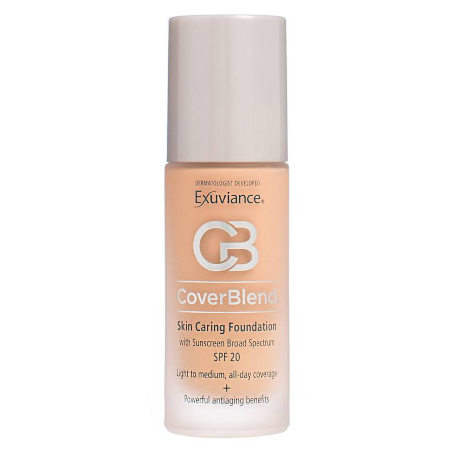 Exuviance CoverBlend Skin Caring Foundation SPF 20 Blush Beige 30 ml