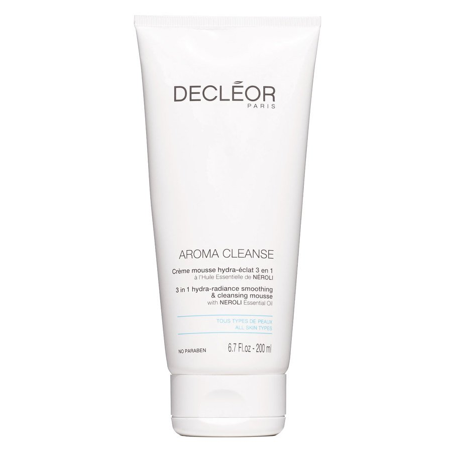 Decléor Aroma Cleanse 3 In 1 Hydra-Radiance Smoothing & Cleansing Mousse 200 ml