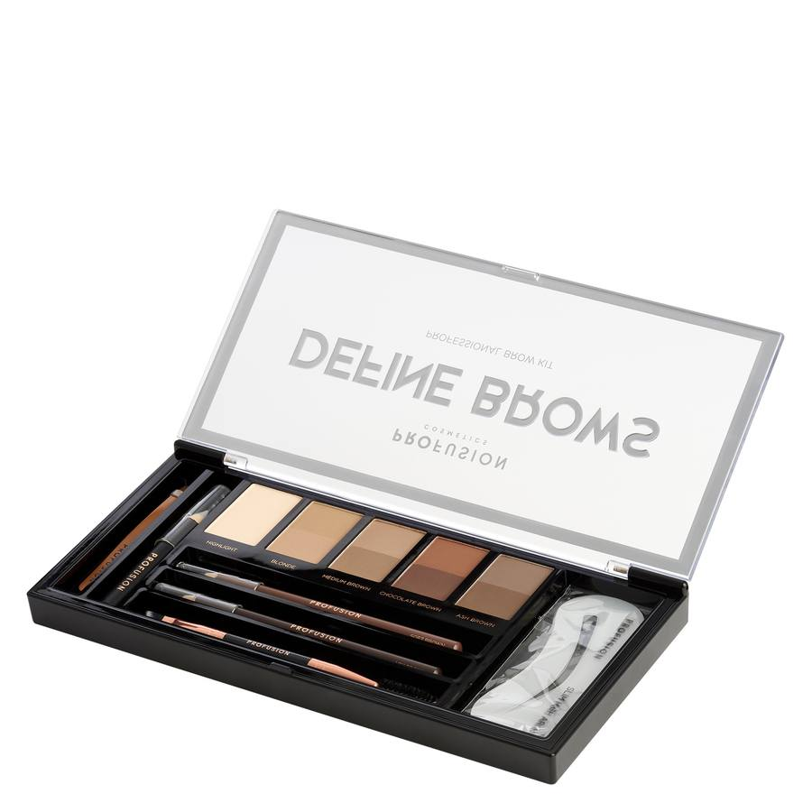 Profusion Cosmetics Define Brows Artistry Palette