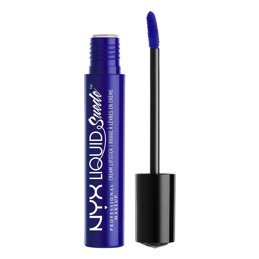 NYX Prof. Makeup Liquid Suede Cream Lipstick Jet Set