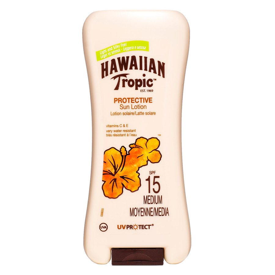 Hawaiian Tropic Satin Protection Lotion SF15 180 ml