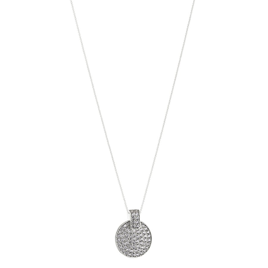 Snö of Sweden Carrie Pendant Necklace Silver/Clear