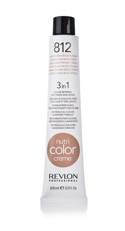 Revlon Professional Nutri Color Creme 100 ml #812 Light Pearly Beige Blonde