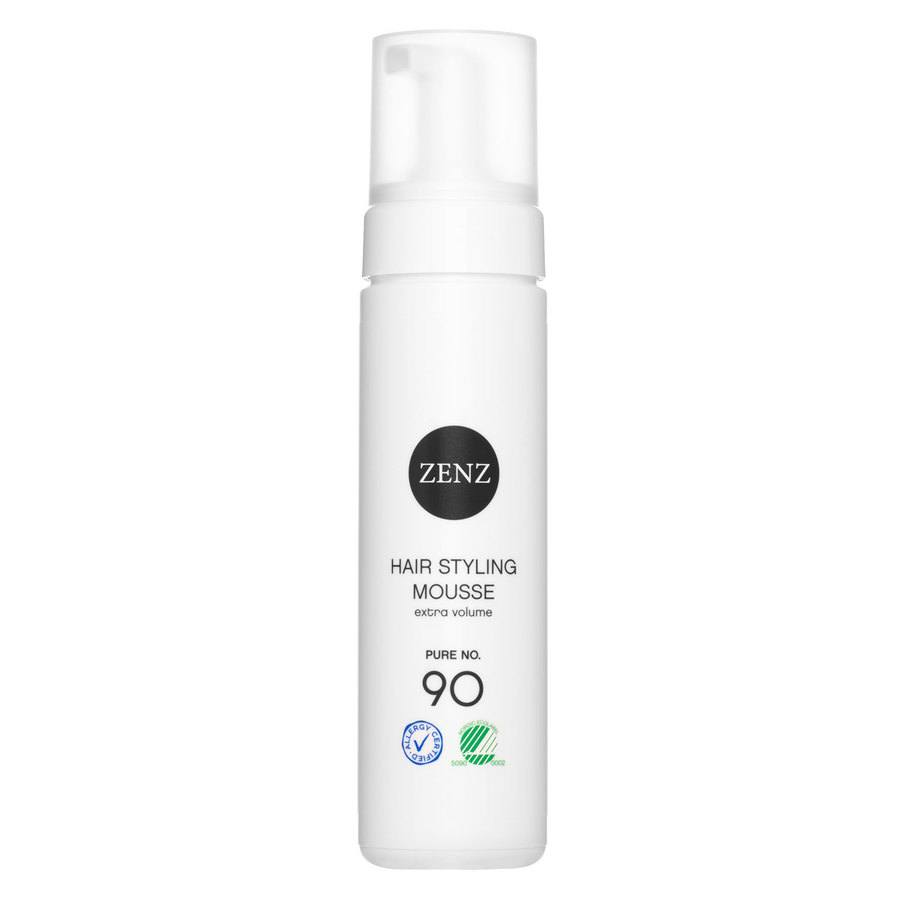 Zenz Organic No. 90 Pure Hair Styling Mousse Extra Volume 200 ml