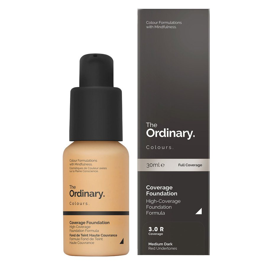 The Ordinary Coverage Foundation 3.0 R medium dark Red