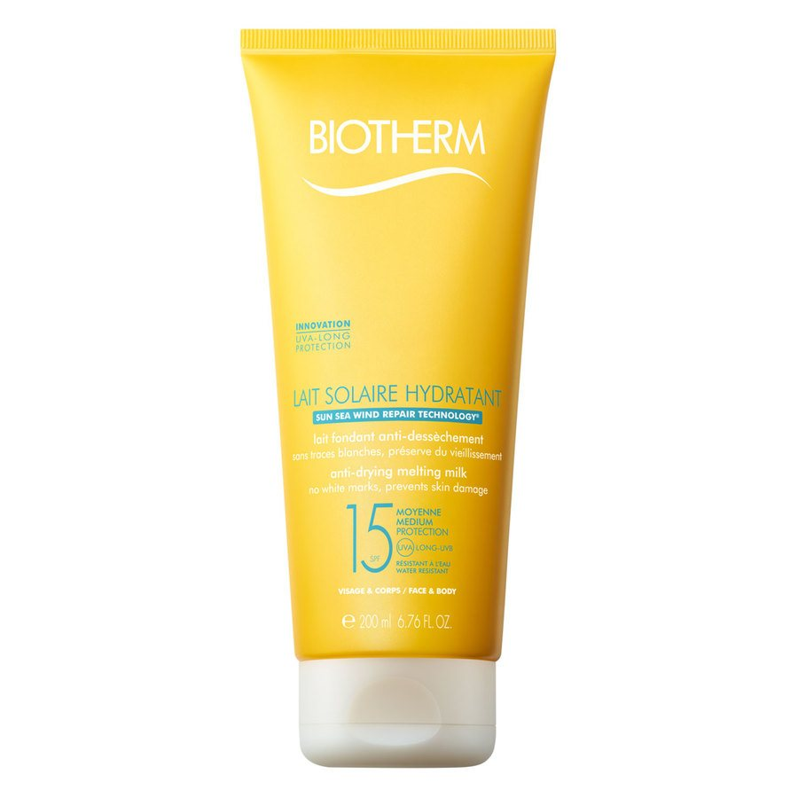 Biotherm Lait Solaire Hydratant Anti-Drying Melting Milk Sunscreen SPF15 200 ml