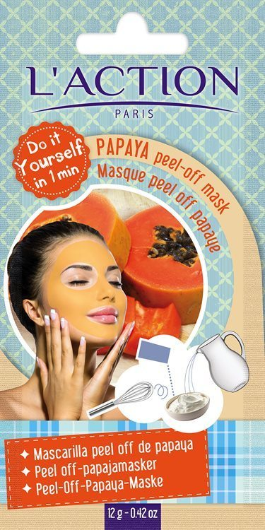 L'Action Paris Papaya Peel-Off Mask 16 g