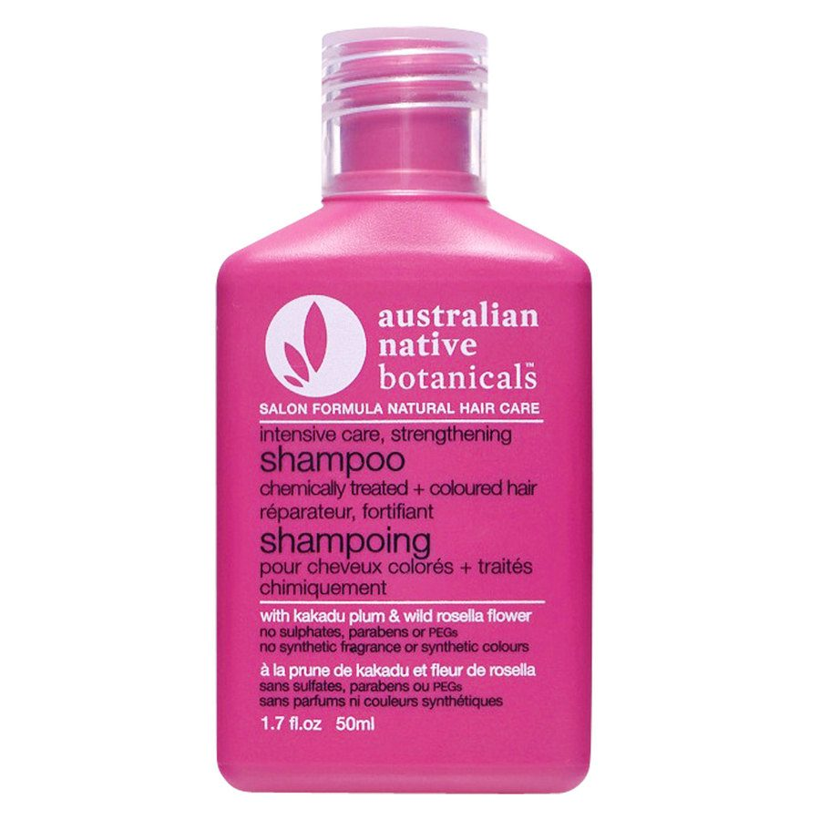 Australian Native Botanicals Strengthening Shampoo For Chemically Treated & Coloured Hair 50ml