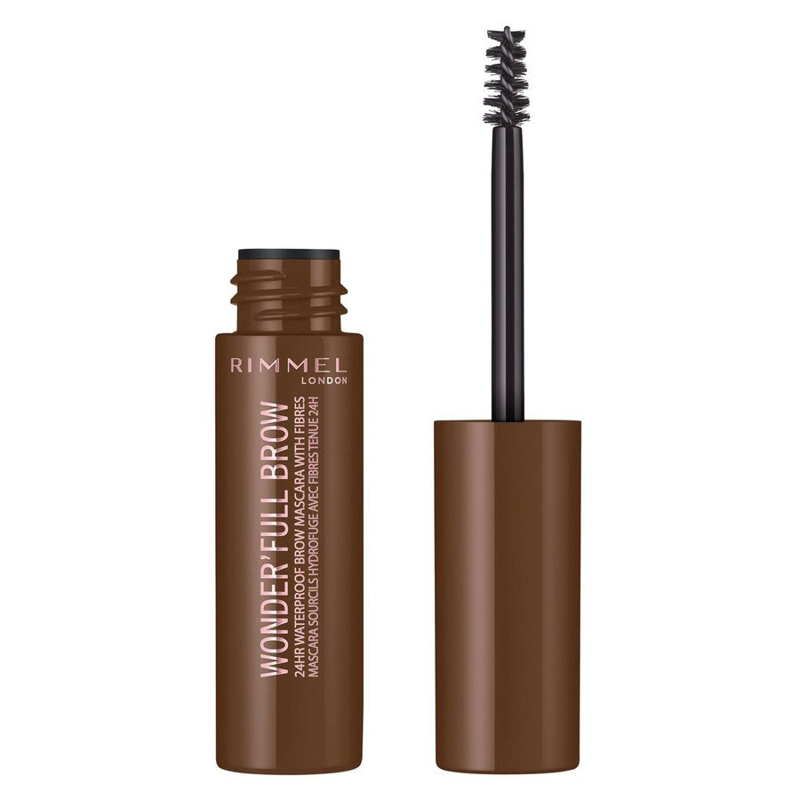 Rimmel London Eye Wonder'Full Brow Mascara 24H #002 Medium Brown 5 ml