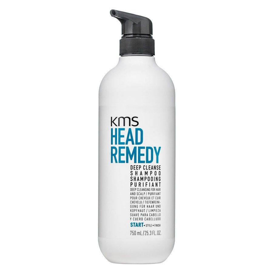 KMS Head Remedy Deep Cleanse Shampoo 750ml