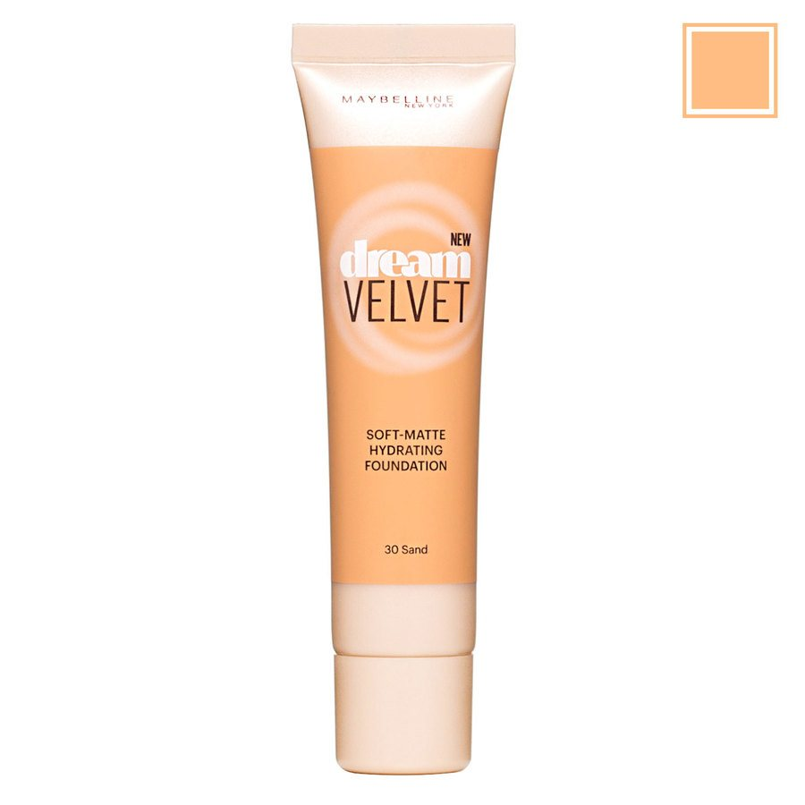 Maybelline Dream Velvet Soft-Matte Hydrating Foundation 30 Sand 30 ml