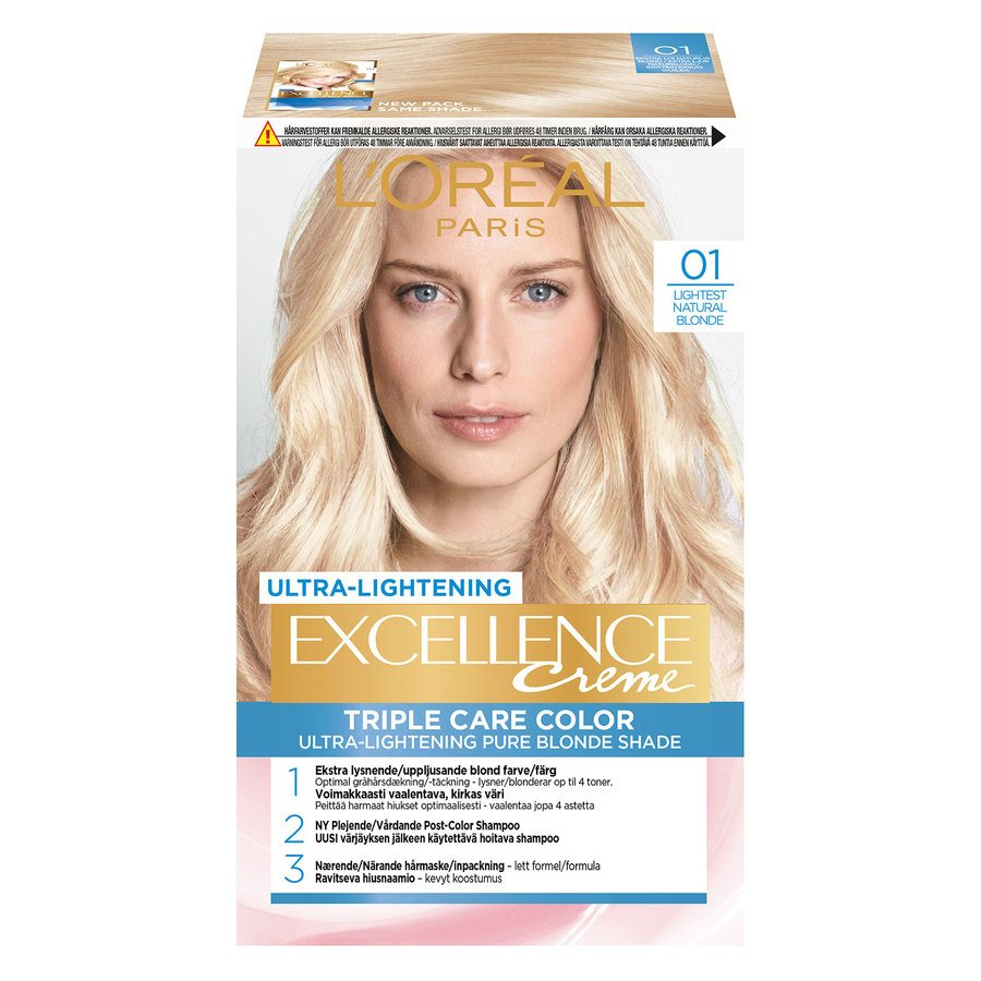 L'Oréal Paris Excellence Creme 01 Blonde Supreme Natural