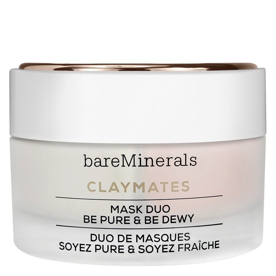 """BareMinerals ClayMates Mask Duo: Be Pure & Be Dewy """" 58gr"""