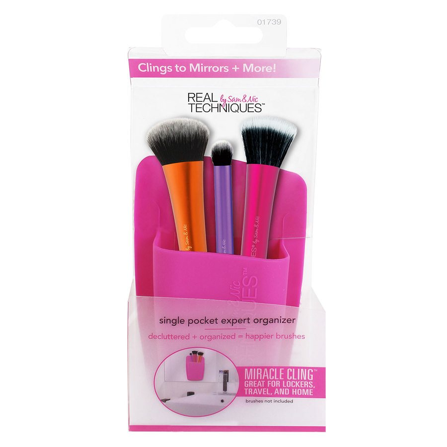 Real Techniques Single Pocket Expert Organizer Pink
