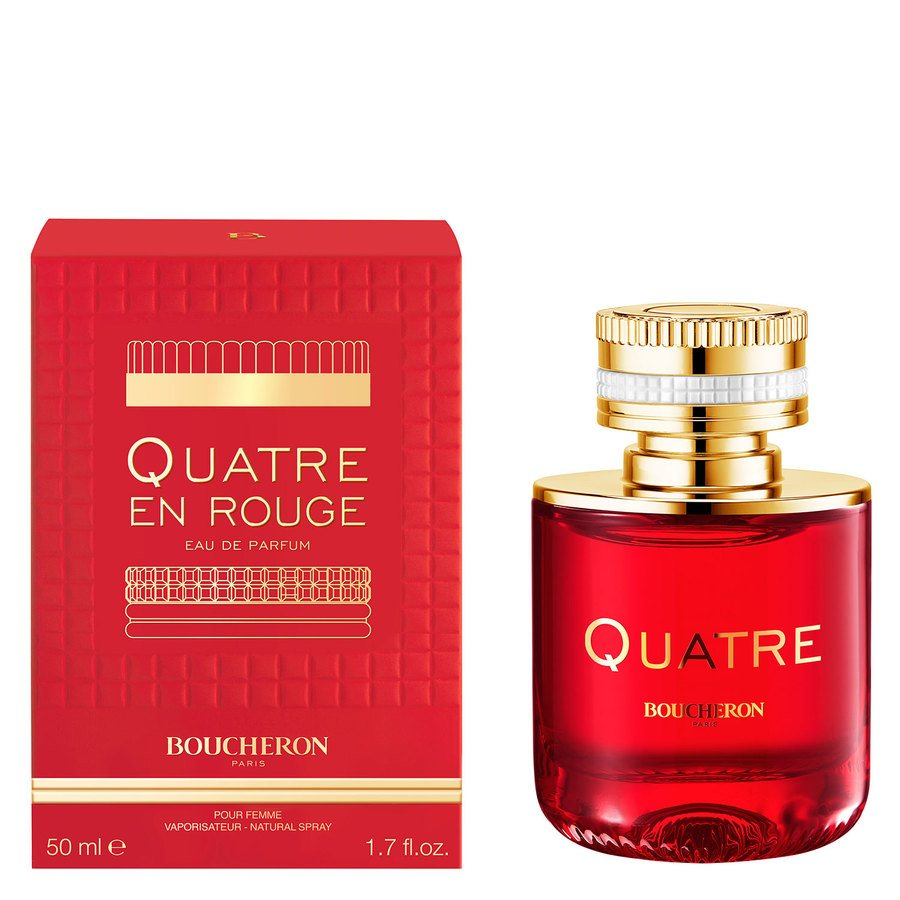 Boucheron Quatre And Rouge Eau De Toilette 50 ml