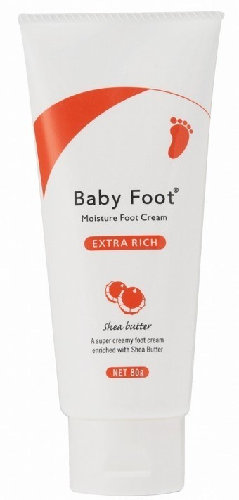 Baby Foot Extra Rich Moisture Foot Cream 80g