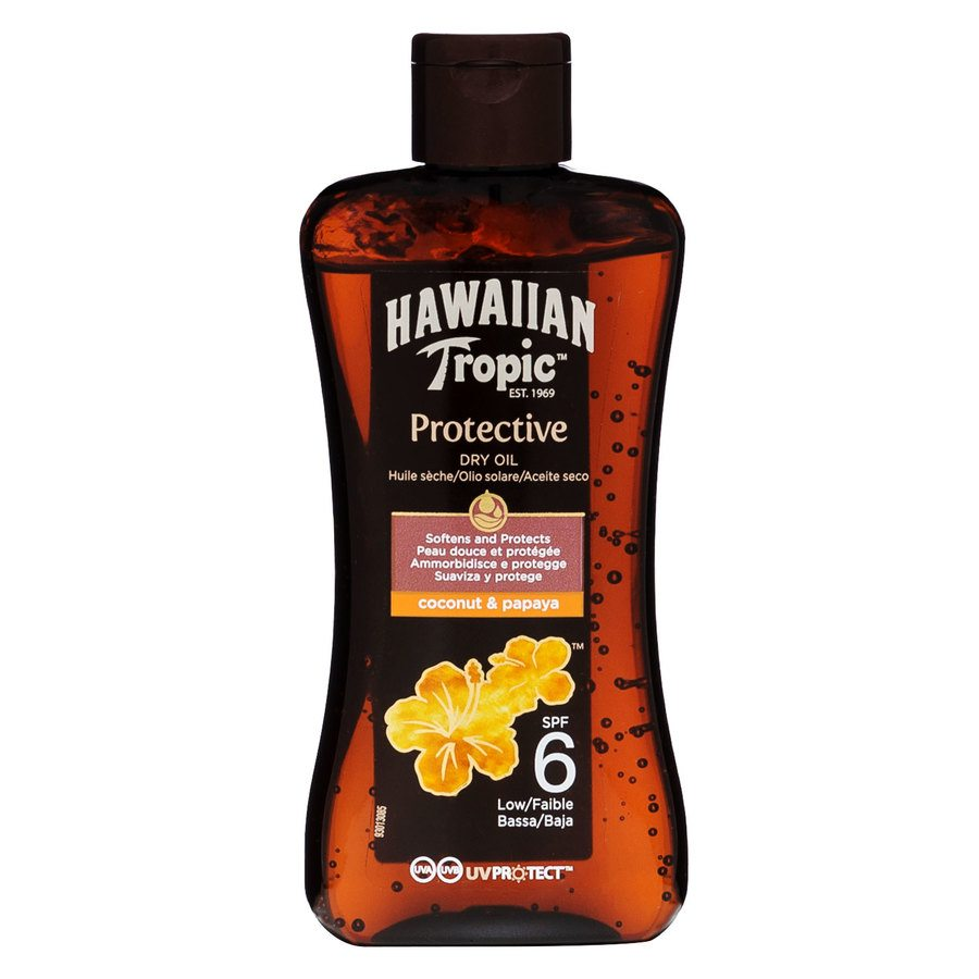 Hawaiian Tropic Protective Dry Oil SF6 200 ml