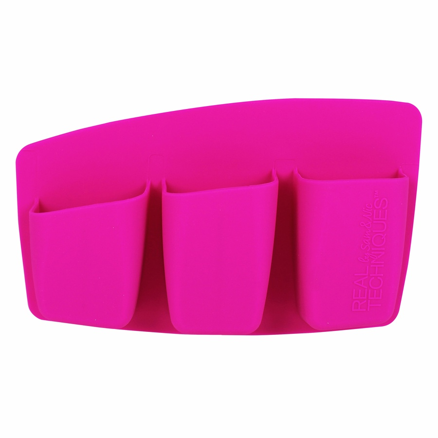 Real Techiques 3 Pocket Expert Organizer Pink